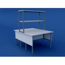 Стол лабораторный физический островной высокий ЛСФО-0.04-ВТМ