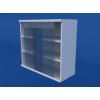 Шкаф навесной, раздвижные стеклянные двери ЛШП-0.12-ВТМ
