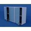Шкаф навесной, распашные двери ЛШП-0.15-ВТМ