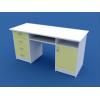 Стол для кабинета врача двухтумбовый МС-2.05-ВТМ