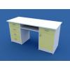 Стол для кабинета врача двухтумбовый МС-2.06-ВТМ
