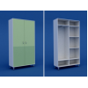Шкаф для одежды двухстворчатый  МШ-2.24-ВТМ
