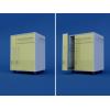 Тумба прикроватная с полотенцедержателем и бутылочницей (1 ящик и дверка) МТП-1.07-ВТМ