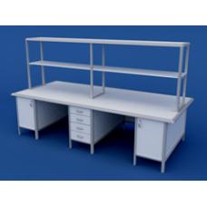 Стол для медлабораторий (для химических исследований) островной АСЛ-0.16-ВТМ